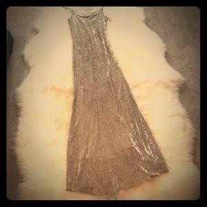 Chetta B Velvet Burnout Dress